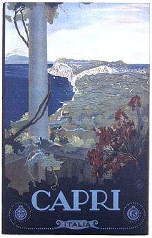 Capri Vintage Italian Wall Sign