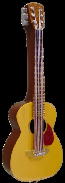 Acoustic Guitar Beer Tap Handle