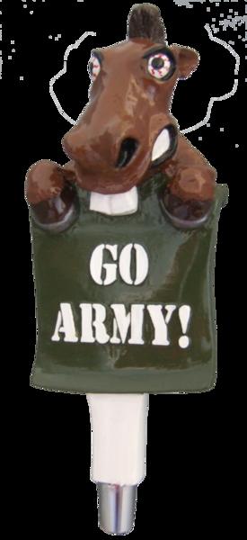 Army Mule Beer Tap Handle