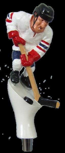 Hockey Player Beer Tap Handle