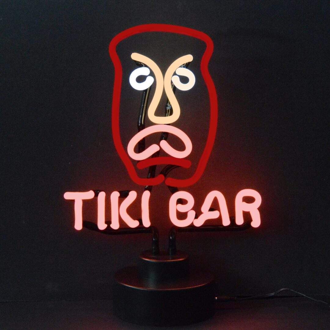Tiki Bar Neon Tabletop Sign