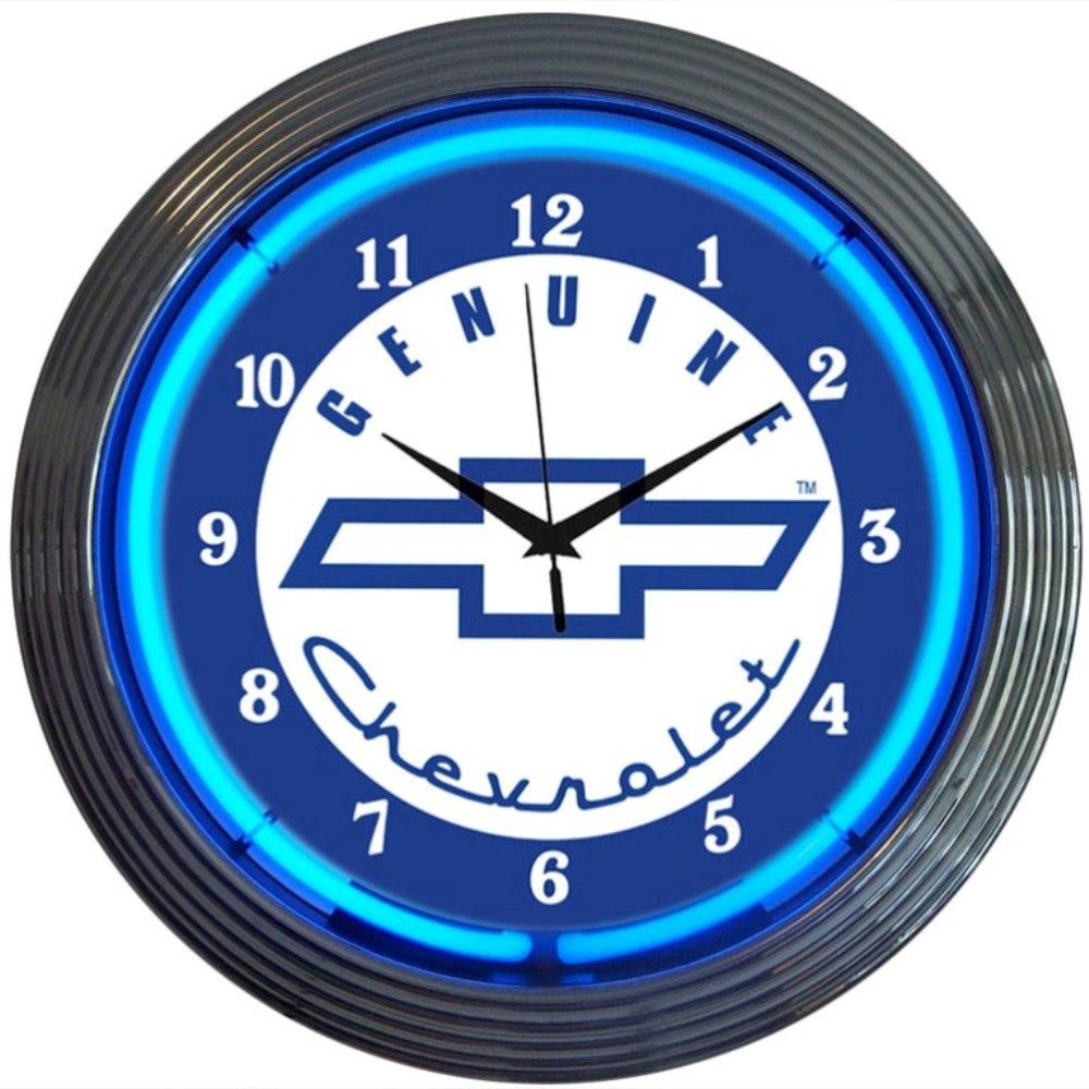 Genuine Chevrolet Neon Clock