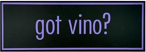 got vino? Italian Sign