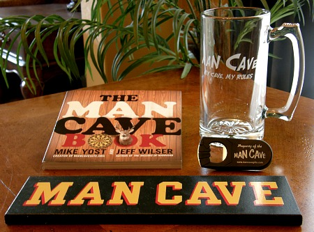 Man Cave Starter Gift Set with Extra Large Mug