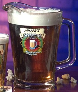 Personalized Neighborhood Pub Glass Pitcher
