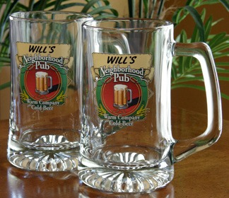 Personalized Neighborhood Pub Tankard Mugs - Extra Large