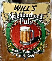Personalized Neighborhood Pub Tankard Mugs - Extra Large - Close Up
