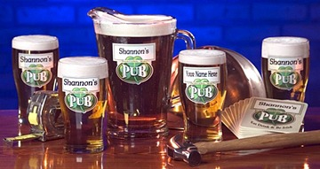 Personalized Traditional Irish Pub Set