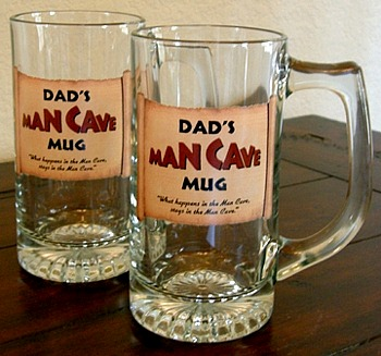 Dads Man Cave Tankard Mugs