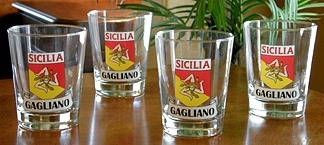 Personalized Sicilia Pride Double Old Fashioned Glasses - Set of 4