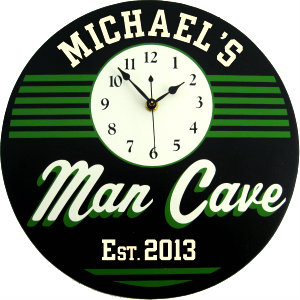 Personalized Man Cave - Retro - Green