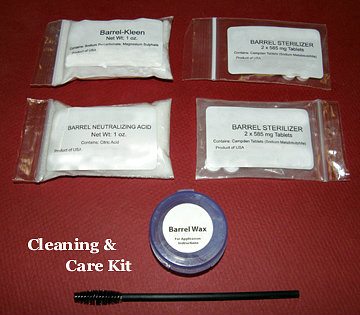 3 Cleaning Care Kits