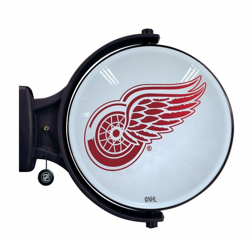 Detroit Red Wings Revolving Wall Light