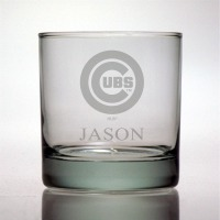 Chicago Cubs Rocks Glass