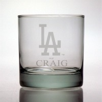 Los Angeles Dodgers Rocks Glass