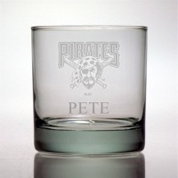 Pittsburgh Pirates Rocks Glass