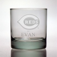 Cincinnati Reds Rocks Glass