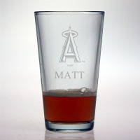Los Angeles Angels Pint Glass