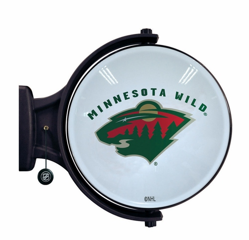 Minnesota Wild Revolving Wall Light