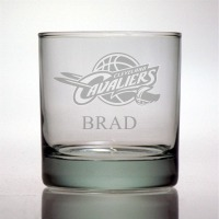 Cleveland Cavaliers Rocks Glass