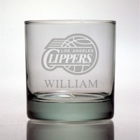 Los Angeles Clippers Rocks Glass
