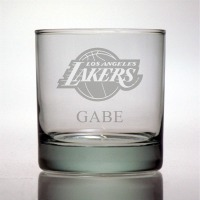 Los Angeles Lakers Rocks Glass