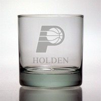 Indiana Pacers Rocks Glass