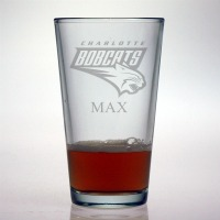 Charlotte Bobcats Pint Glass