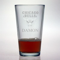 Chicago Bulls Pint Glass