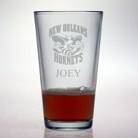 New Orleans Hornets Pint Glass