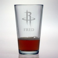 Houston Rockets Pint Glass