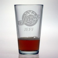 Utah Jazz Pint Glass
