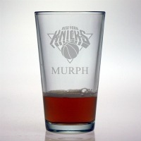 New York Knicks Pint Glass