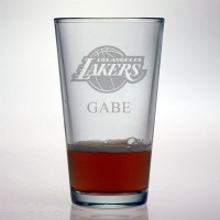 Los Angeles Lakers Pint Glass