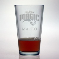 Orlando Magic Pint Glass