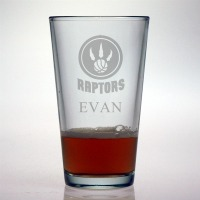Toronto Raptors Pint Glass