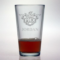 Phoenix Suns Pint Glass