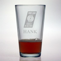 Portland Trail Blazers Pint Glass