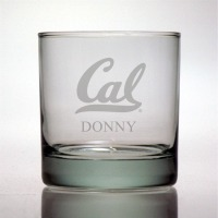 Cal - University of California, Berkeley Golden Bears Rocks Glass