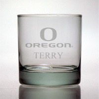 University of Oregon Ducks Rocks Glass
