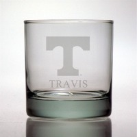 University of Tennessee Volunteers Rocks Glass