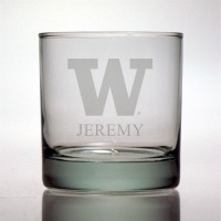 University of Washington Huskies Rocks Glass