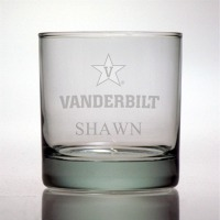Vanderbilt University Commodores Rocks Glass