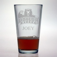 Baylor University Bears Pint Glass