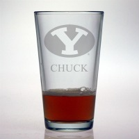 BYU – Brigham Young University Pint Glass