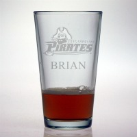 East Carolina University Pirates Pint Glass