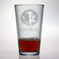 FSU - Florida State University Seminoles Pint Glass