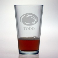 Penn State University Nittany Lions Pint Glass