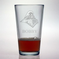 Purdue University Biolermakers Pint Glass