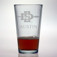 San Diego State University Aztecs Pint Glass